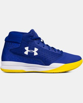 Men's UA Jet Mid Basketball Shoes  1  Color Available $75