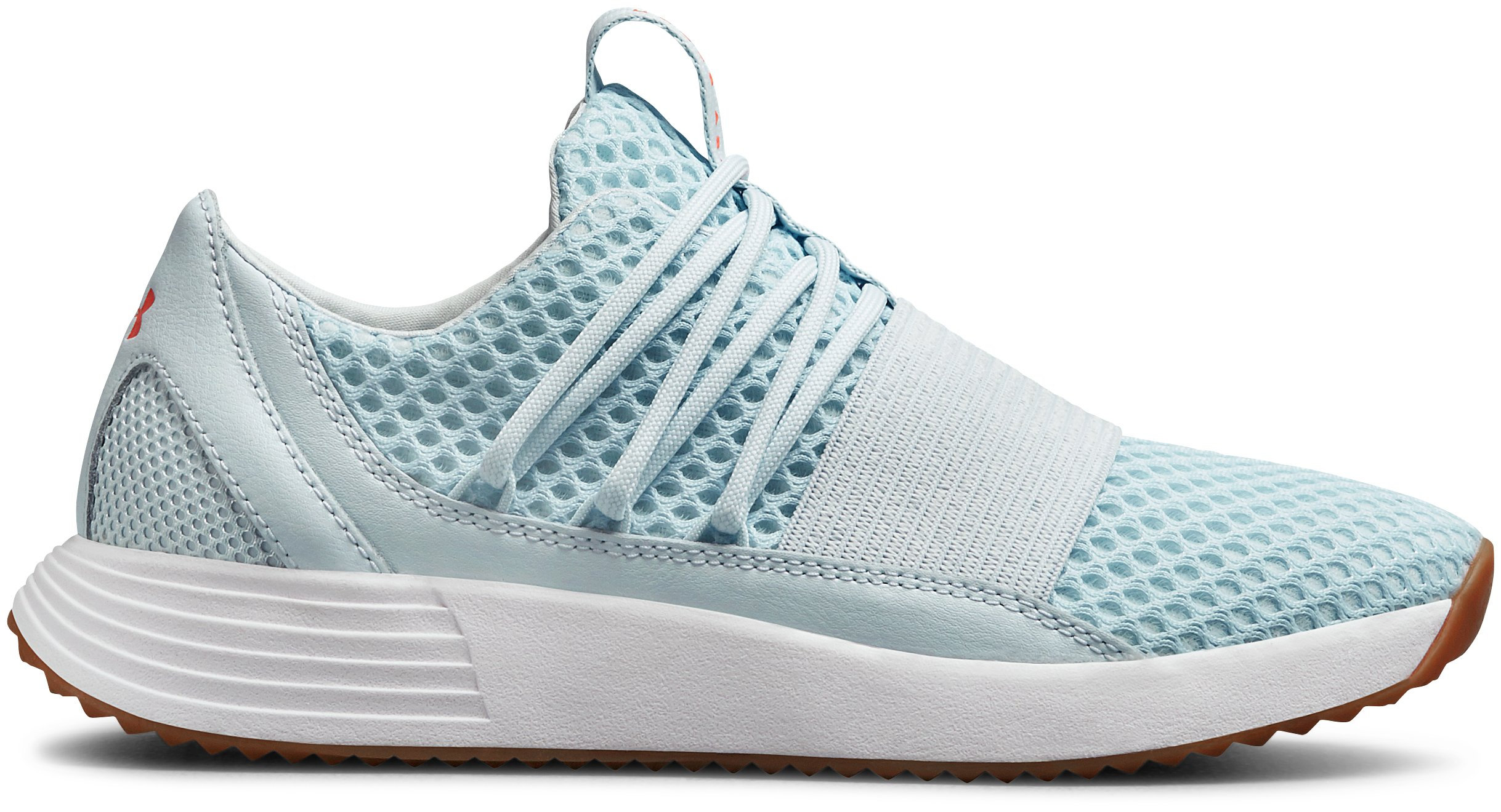 UA W Breathe Lace X NM, Halogen Blue, zoomed