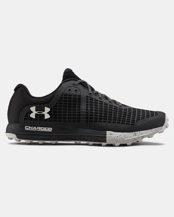 Men's UA Horizon BPF Trail Running Shoes, Black, pdpMainDesktop image number 0