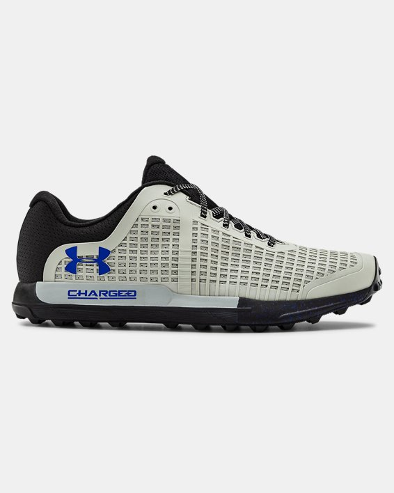Men's UA Horizon BPF Trail Running Shoes, Green, pdpMainDesktop image number 0
