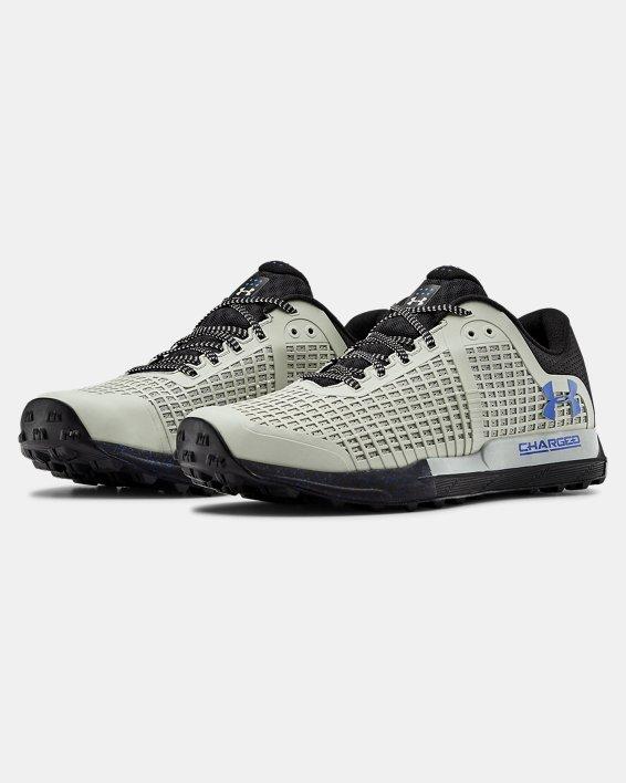 Men's UA Horizon BPF Trail Running Shoes, Green, pdpMainDesktop image number 4