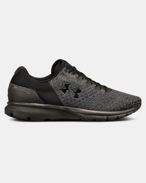Men's UA Charged Escape 2 Running Shoes, Black, pdpMainDesktop image number 0