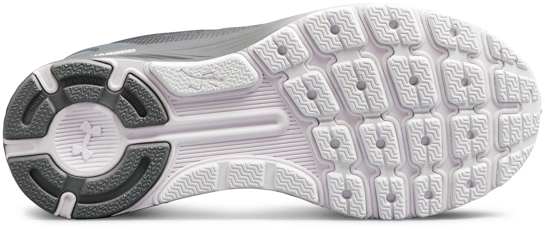 Women's UA Charged Bandit 4 Running Shoes, White,