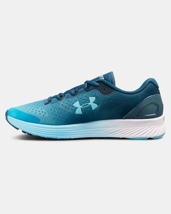 Women's UA Charged Bandit 4 Running Shoes, Blue, pdpMainDesktop image number 1