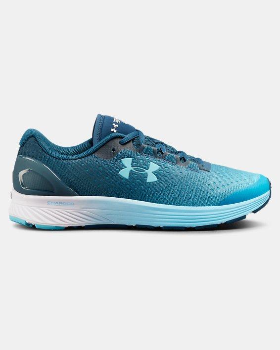 Women's UA Charged Bandit 4 Running Shoes, Blue, pdpMainDesktop image number 0