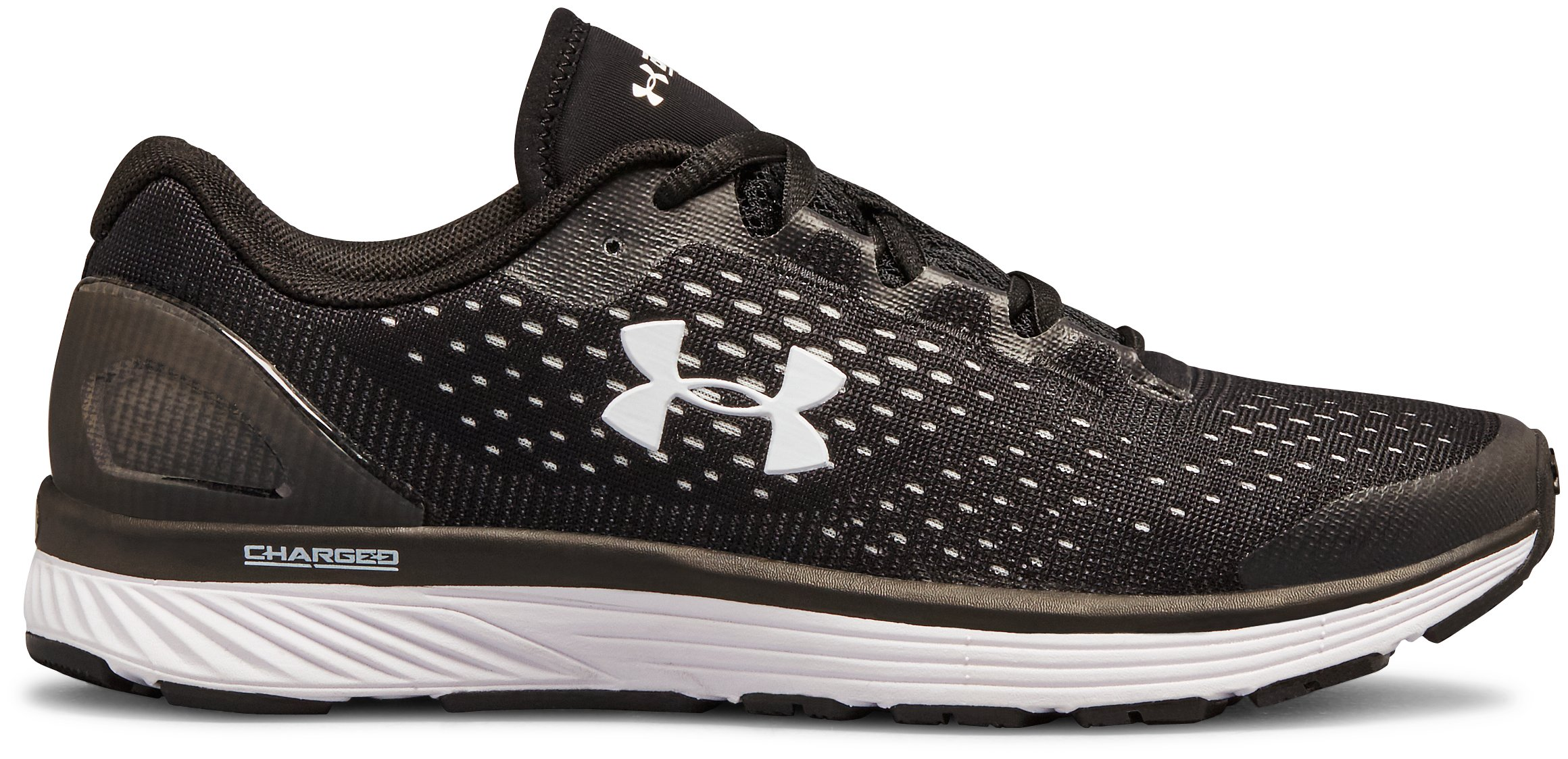 Women's UA Charged Bandit 4 Team Running Shoes, Black