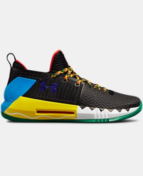 New Arrival Men's UA Drive 4 Low Rookie LE Basketball Shoes  1  Color Available $109.99