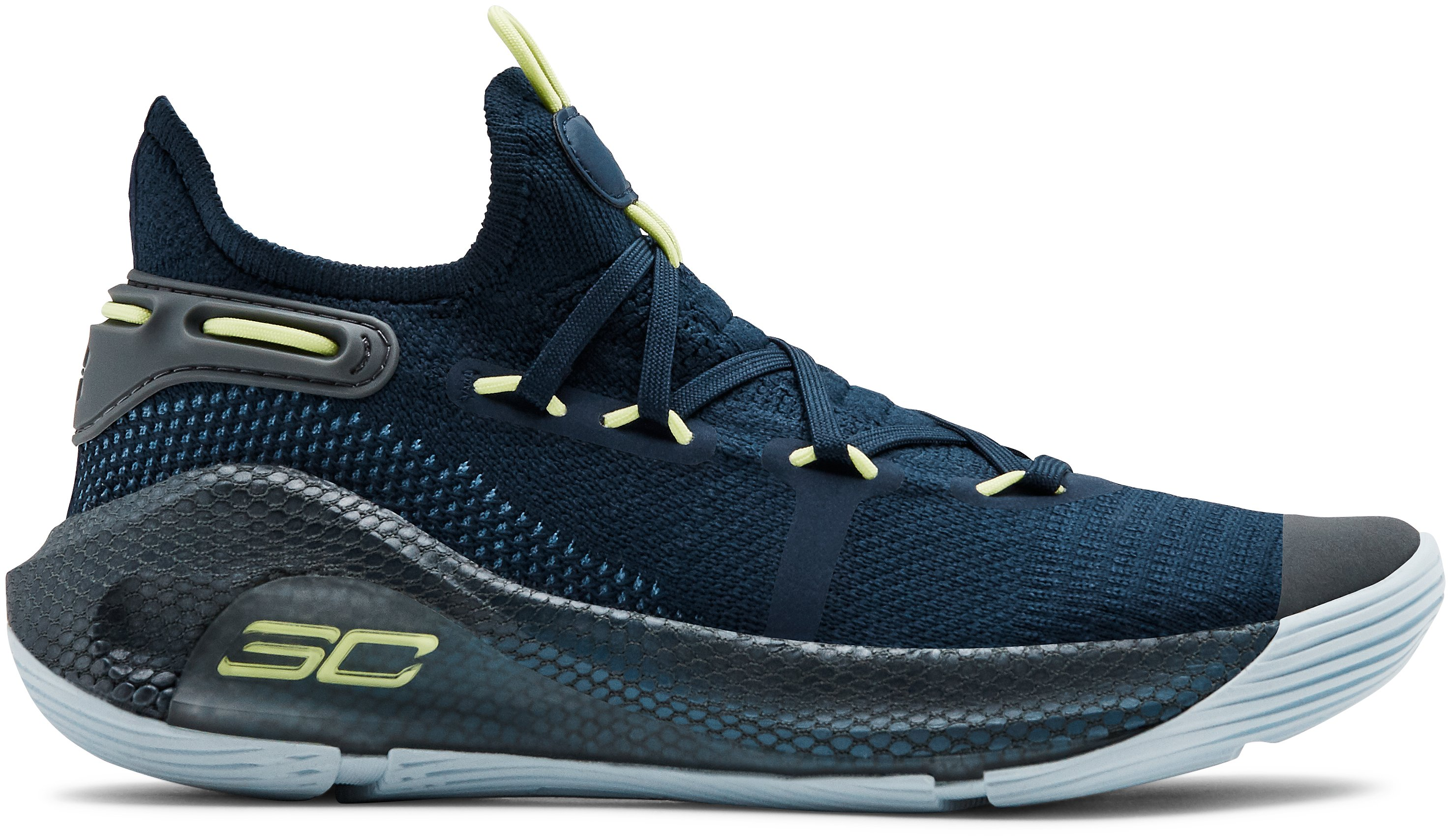 Basketballschuhe (Grundschule) UA Curry 6, 360 degree view