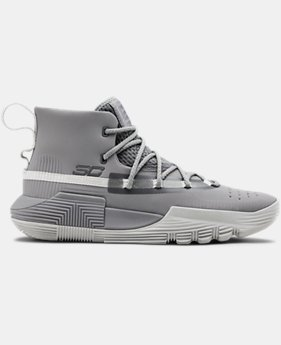 Boys' Grade School UA SC 3ZER0 II Basketball Shoes  4  Colors Available $110