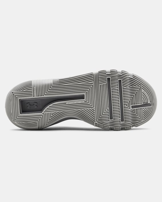 Grade School UA Curry 3Zer0 2 Basketball Shoes, Gray, pdpMainDesktop image number 2
