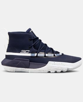 Boys' Grade School UA SC 3ZER0 II Basketball Shoes  4  Colors Available $85