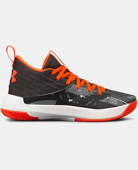 Boys' Grade School UA Lightning 5 Basketball Shoes  3  Colors Available $70