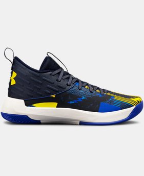 New Arrival  Boys' Grade School UA Lightning 5 Basketball Shoes  1  Color Available $90