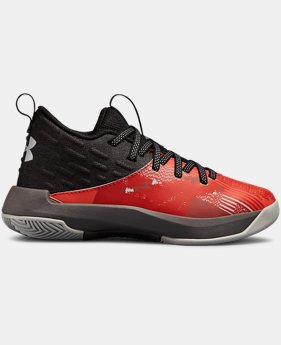 Boys' Pre-School UA Lightning 5 Basketball Shoes  2  Colors Available $60