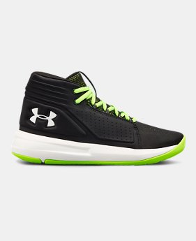 fa4c27f954a UA Torch Mid – Chaussures de basketball école primaire pour garçon 2  Couleurs Disponible  54.99