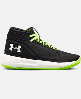 New Arrival  Boys' Grade School UA Torch Mid Basketball Shoes  3  Colors Available $90