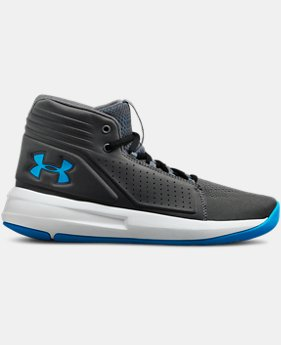 Boys' Grade School UA Torch Mid Basketball Shoes  2  Colors Available $75