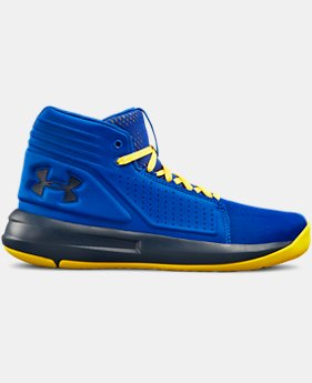 Boys' Grade School UA Torch Mid Basketball Shoes  3  Colors Available $75