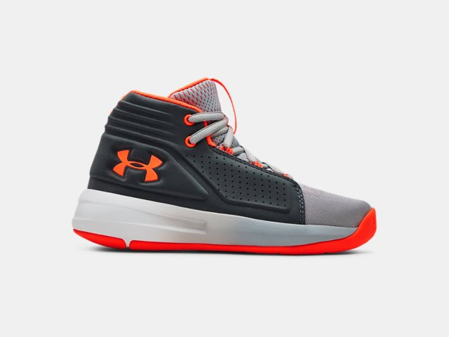 9d225408dad Boys  Pre-School UA Torch Mid Basketball Shoes