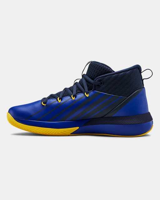 Boys' Grade School UA Lockdown 3 Basketball Shoes