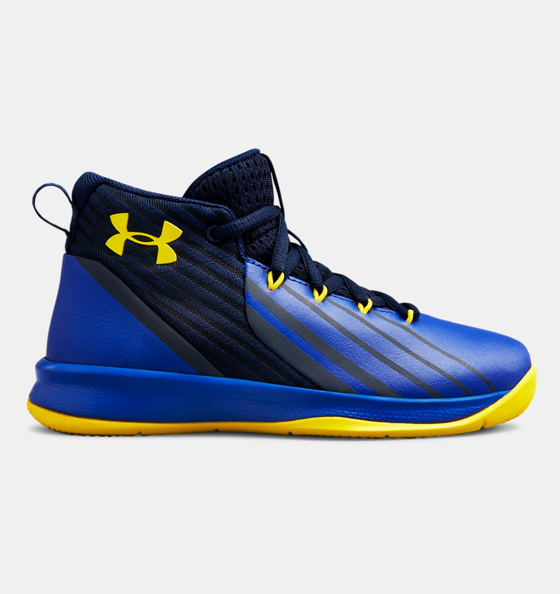 Underarmour Boys Pre-School UA Lockdown 3 Basketball Shoes
