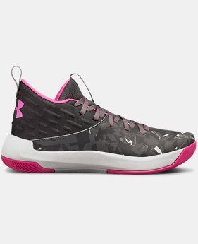 Girls' Grade School UA Lightning 5 Basketball Shoes  1  Color Available $85