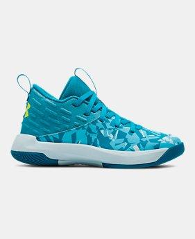 74b43f864e1 Girls  Pre-School UA Lightning 5 Basketball Shoes 1 Color Available  45