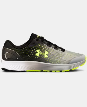 Boys' Grade School UA Charged Bandit 4 Running Shoes  4  Colors Available $70