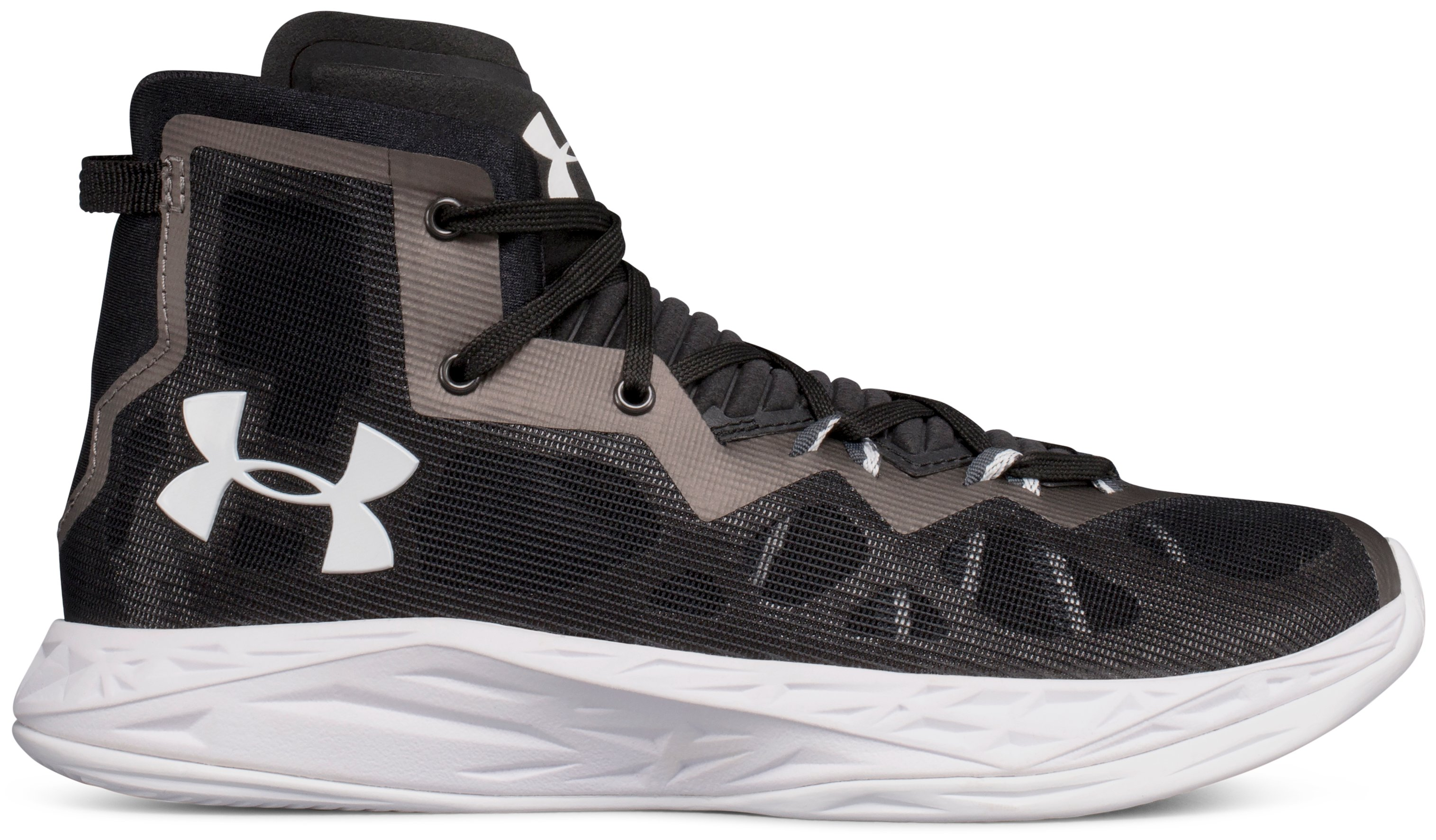 Women's UA Lightning 4 Basketball Shoes, Black