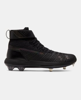 cac4536b602 Men's UA Harper 3 Mid ST Baseball Cleats 1 Color Available $120