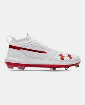 80bc2f1b8e0 Men s UA Harper 3 Low ST Baseball Cleats 4 Colors Available  82.99 to   84.99. 4 Colors Available. White  Red  Royal  Black