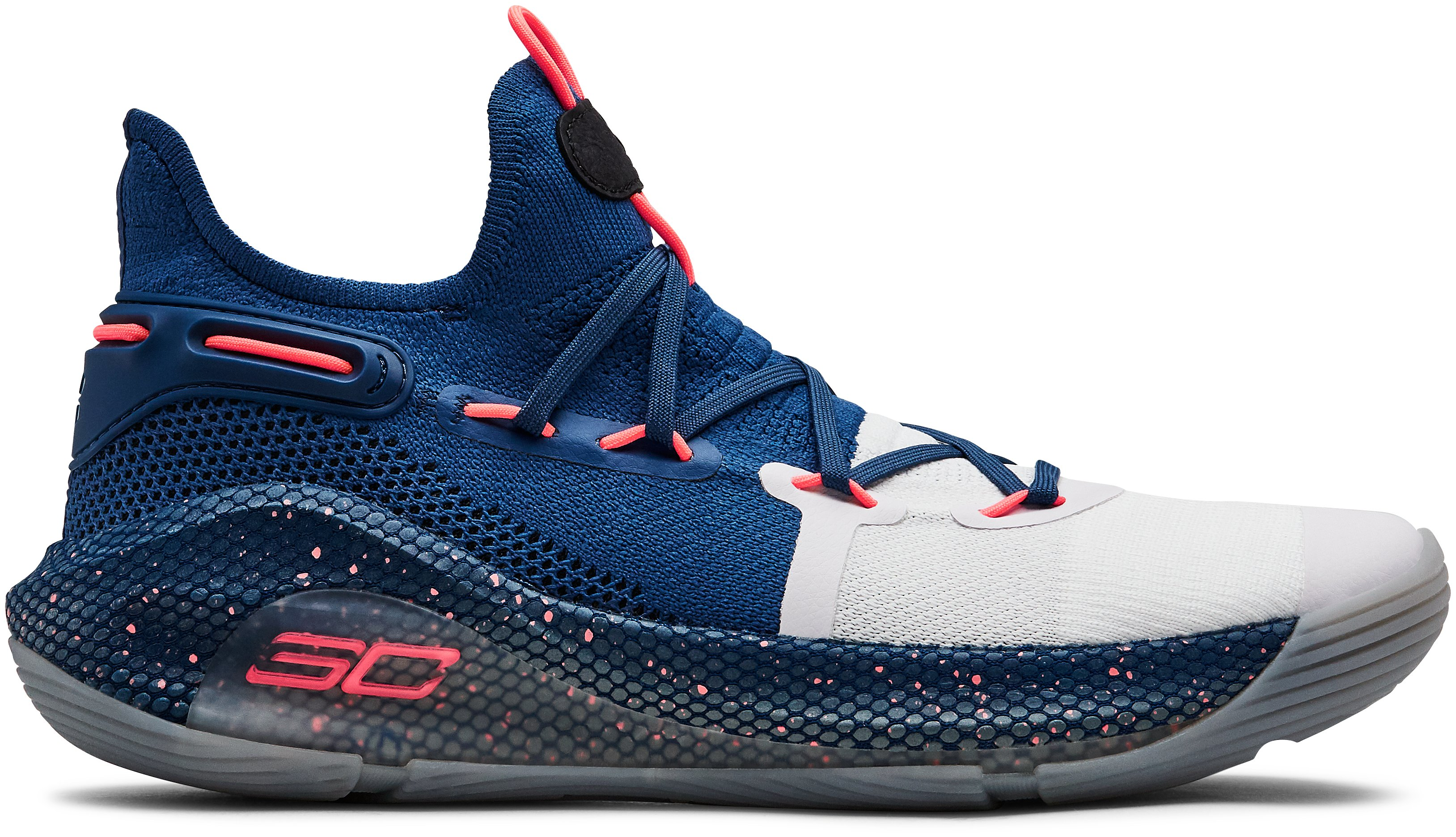 UA Curry 6 Basketball Shoes, 360 degree view
