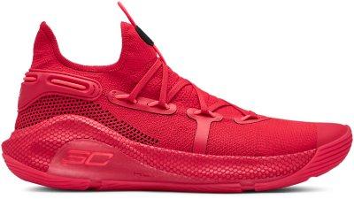 zapatos under armour curry rojo