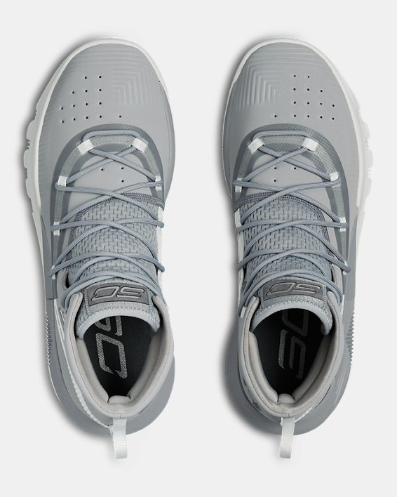 Men's UA SC 3ZER0 II Basketball Shoes, Gray, pdpMainDesktop image number 2