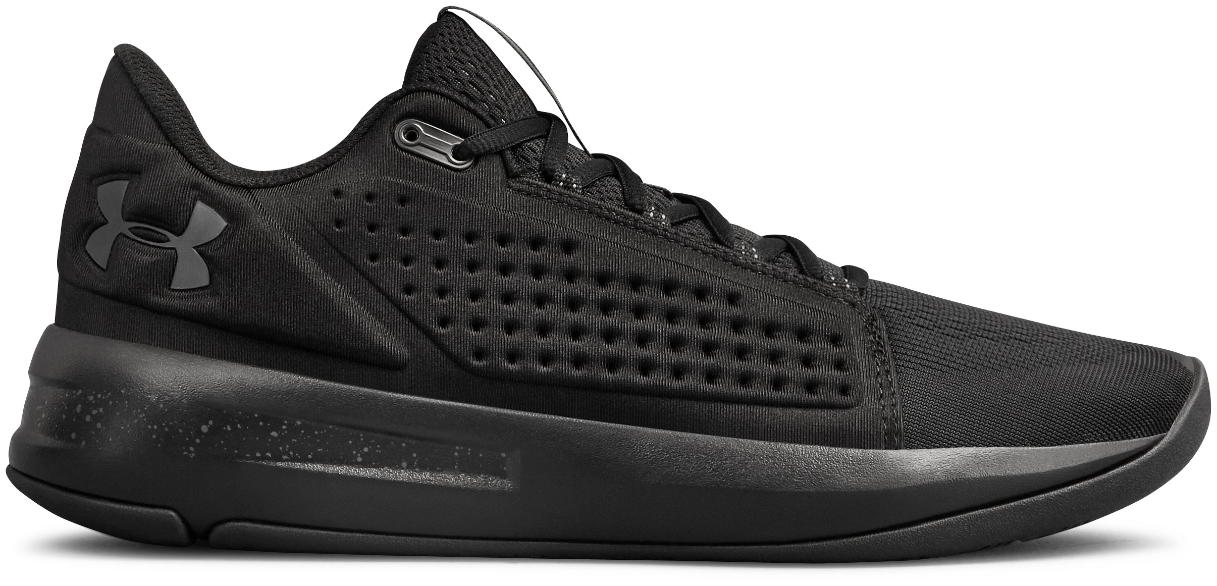 Men's UA Torch Low Basketball Shoes, Black