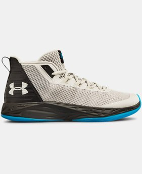 Men's UA Jet Mid Basketball Shoes  4  Colors Available $75