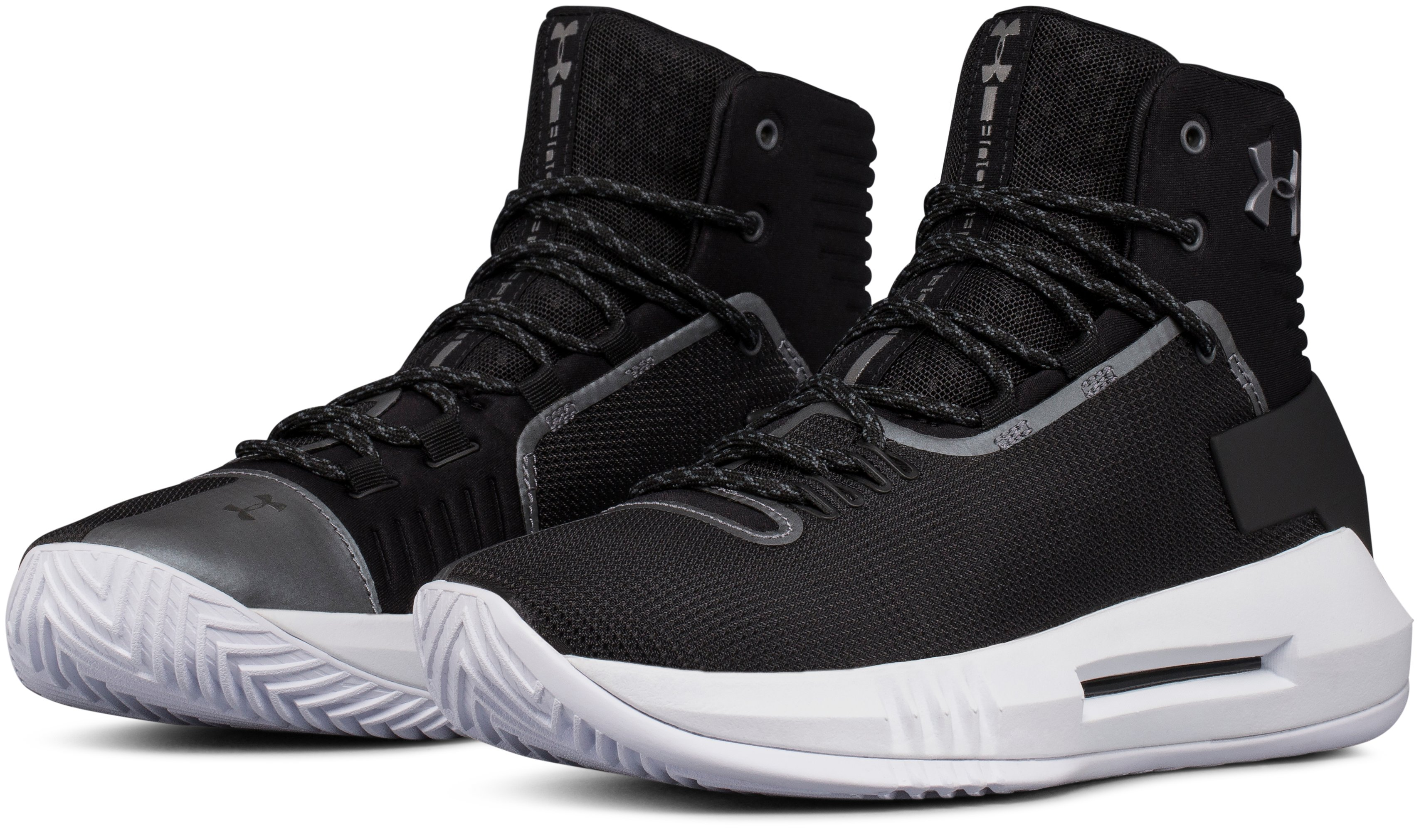 Women's UA Drive 4 Basketball Shoes, Black ,