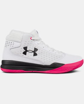 Women's UA Jet 2017 Basketball Shoes   $52.49