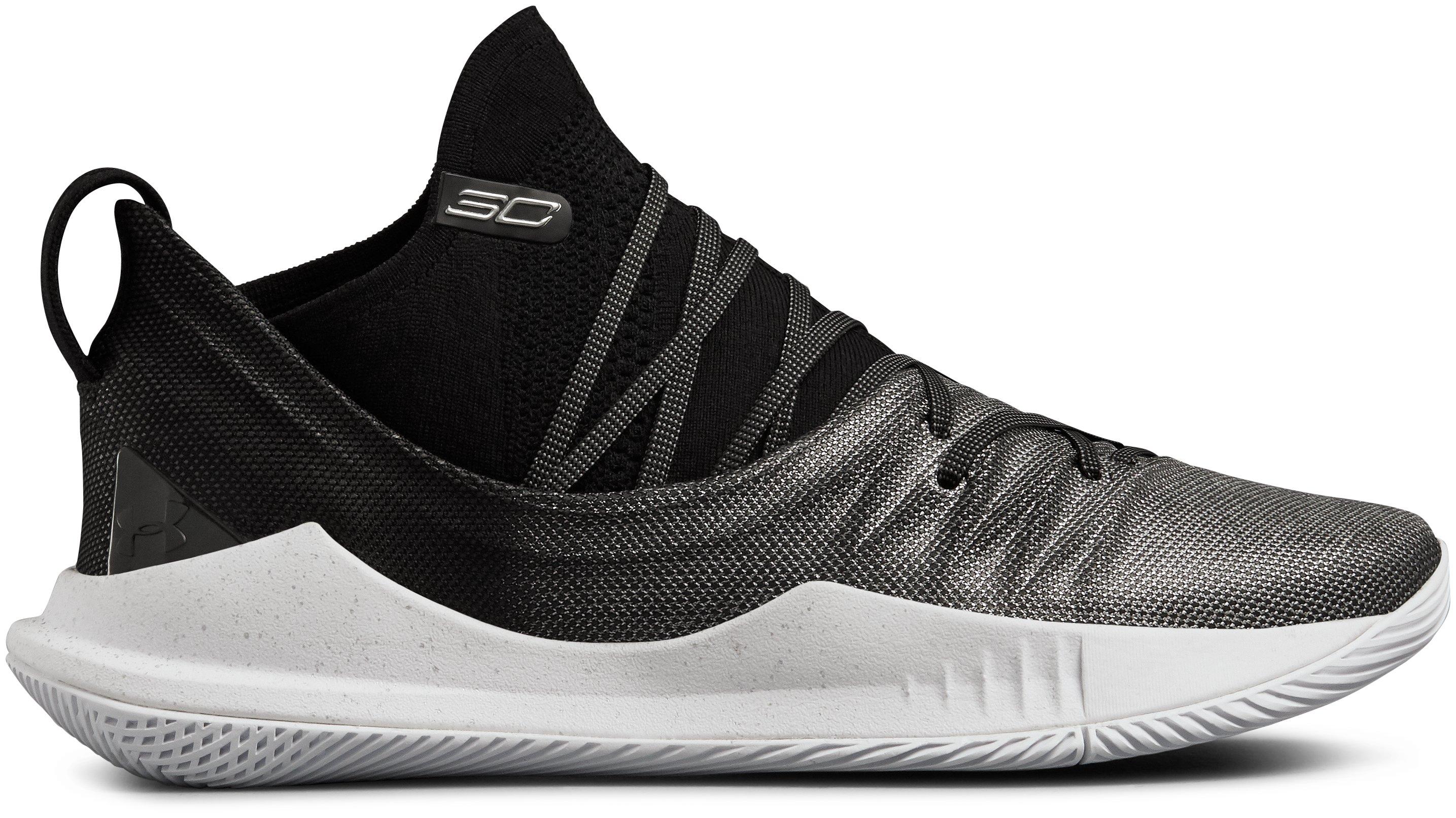 Sepatu Basket UA Curry 5 untuk Pria, 360 degree view
