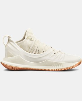 Men's UA Curry 5 Basketball Shoes  1  Color Available $130