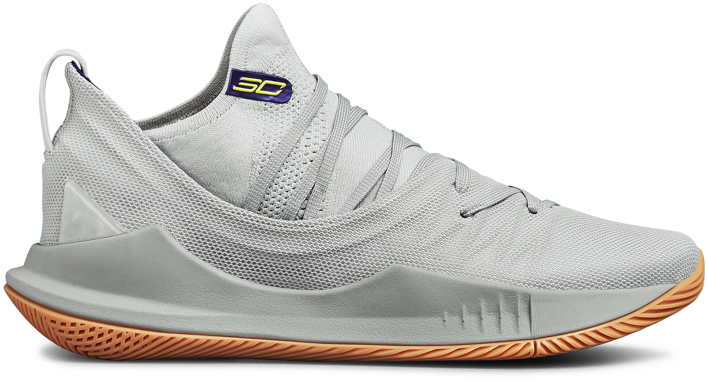 Men's UA Curry 5 Basketball Shoes, Elemental, zoomed