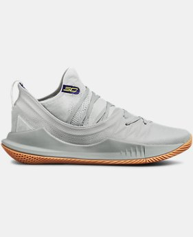 Men's UA Curry 5 Basketball Shoes FREE U.S. SHIPPING 2  Colors Available $130