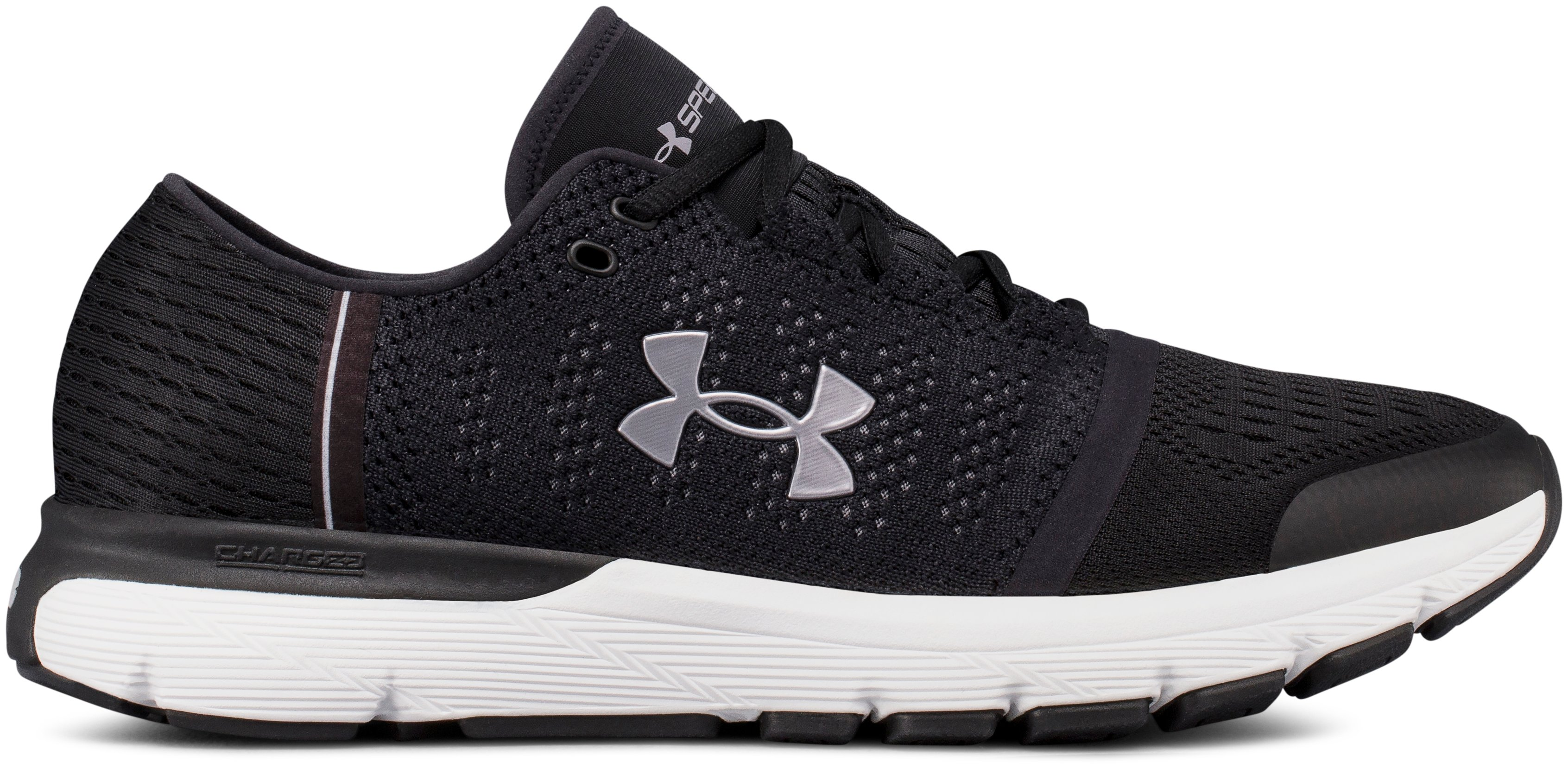 Men's UA SpeedForm® Gemini Vent Running Shoes, Black ,