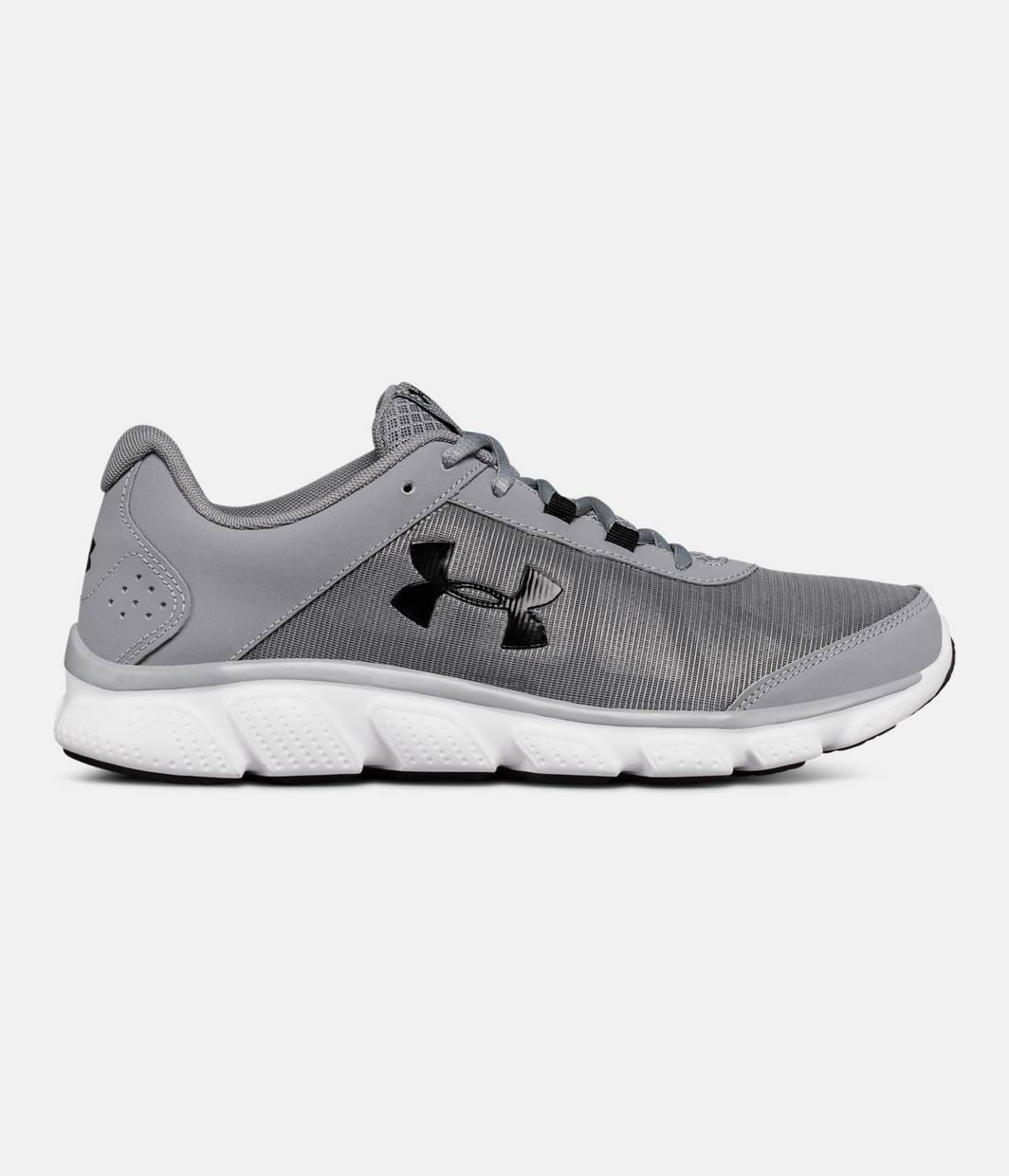 Under Armour Micro G Assert 7 Running Shoe(Men's) -Black/Rhino Gray/Rhino Gray Find Great Cheap Online Outlet Browse 100% Authentic Online Official Site Cheap Price Best Cheap Online KuDuvi