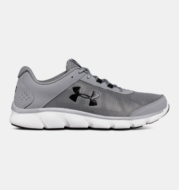 Men's UA Micro G® Assert 7 Running Shoes, Steel, , Steel, Click to view full size