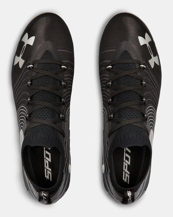 Men's UA Spotlight MC Football Cleats, Black, pdpMainDesktop image number 3