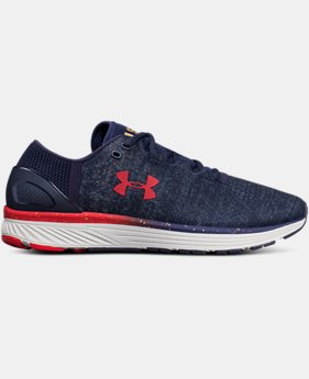 Men's UA Charged Bandit 3 – USA Edition Running Shoes  1  Color Available $100