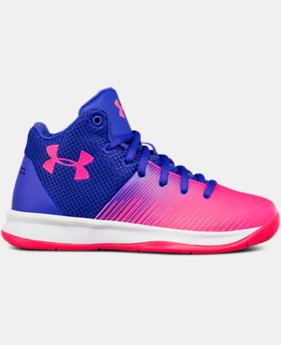 New Arrival Girls' Pre-School UA Surge Running Shoes  2 Colors $55