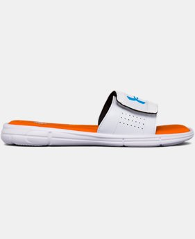 Men's UA Ignite V Team Slides  1 Color $35