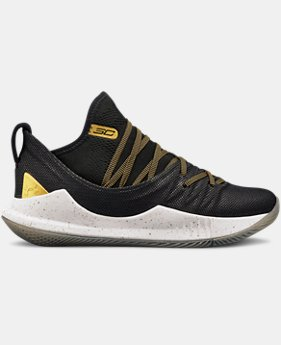 New Arrival Boys' Grade School UA Curry 5 Basketball Shoes  3  Colors Available $110